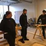 Eleverne på Byg, Bolig & Anlæg blev sat i gang fra første dag
