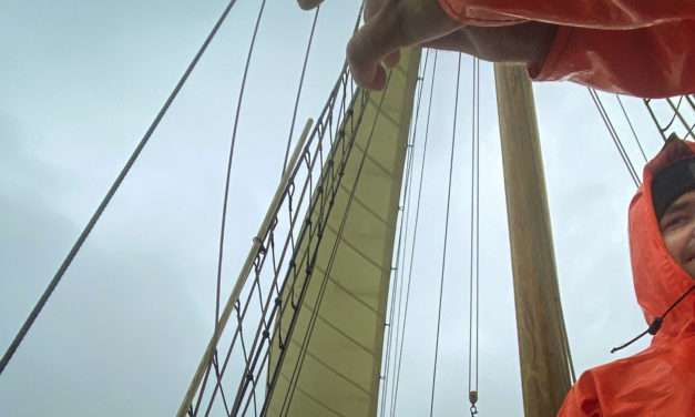 Vi trodser vind og vejr og stikker til søs
